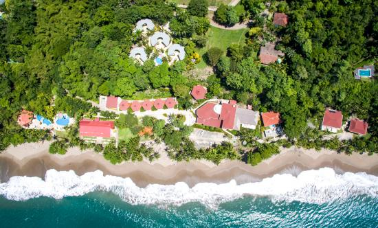Tango Mar Beachfront Boutique Hotel & Villas: Aerial View