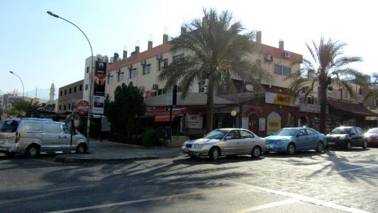 مينا هوتل: Отель и местность