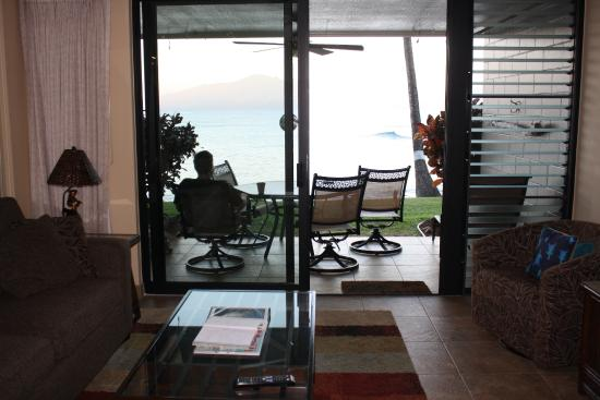 Noelani Condominium Resort: View from living room