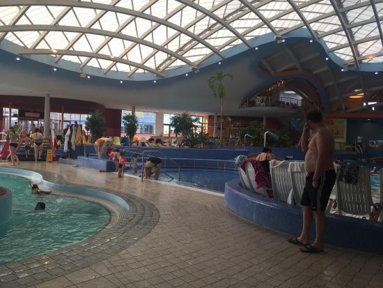 H2O Hotel Therme Resort: Piscina coperta