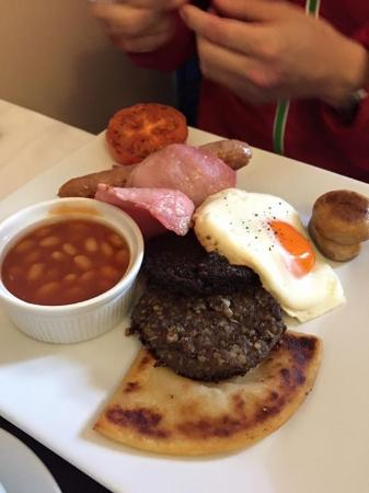 Craggallan Guest House : Breakfast