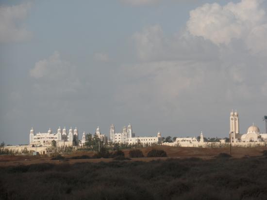 Deir Mar Mina (St. Mina Monastery): view from the archaeological site