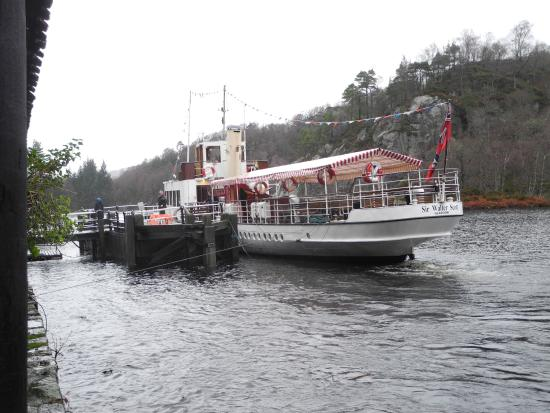 Loch Lomond and The Trossachs National Park, UK: The steamboat, Sir Walter Scott