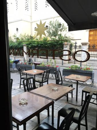 Osterman Bar & Dining Room: Looking outside