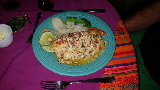 Hotel Atitlan: fish meal