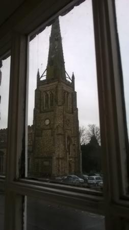 Thaxted, UK: View of church