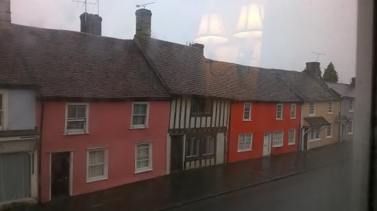 Thaxted, UK: View of cottages