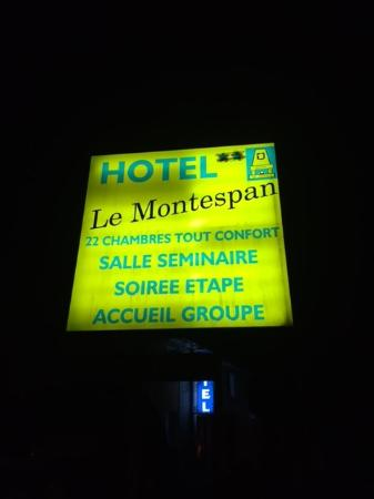 Lussac les Chateaux, فرنسا: 2 of 3 sterren?