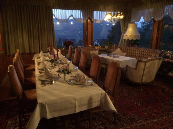 Haus Hubertus: Tisch zu Silvester