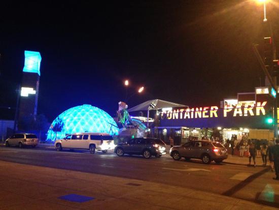 east fremont container park picture of las vegas downtown las