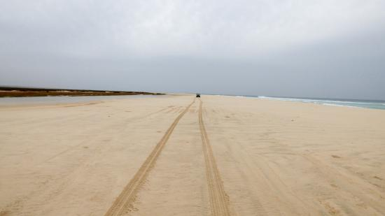 Boa Vista, Kapp Verde: Spiaggia Di Curralinho