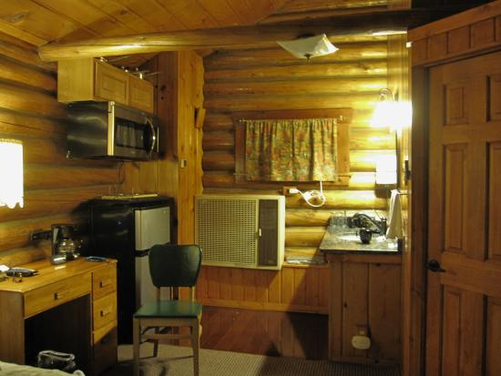 Buffalo, WY: One room log cabin with kitchenette