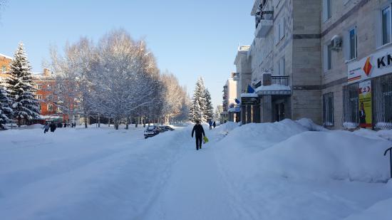 Altay Hotel : Перед гостиницей