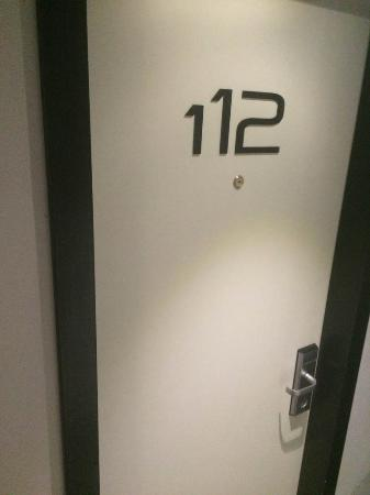 Olympia Tel Aviv Hotel: Our door.