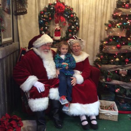 Baldwin City, KS: Santa's Personal Car with Mrs. Clause