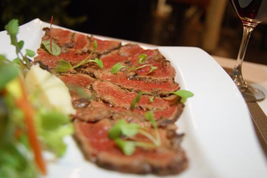 Kitchenette: filet mignon beel carpacio