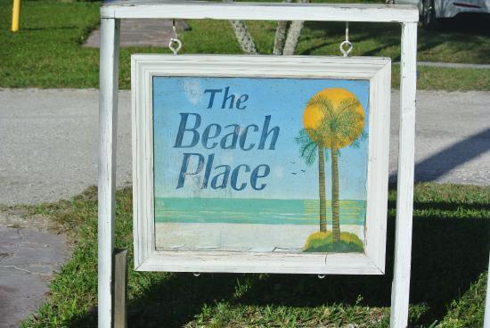 Siesta Key Beach Place : Entrance