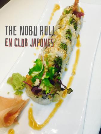 THE NOBU ROLL !!
