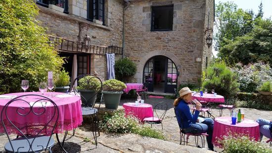 Ile-aux-Moines, Prancis: vue de la table