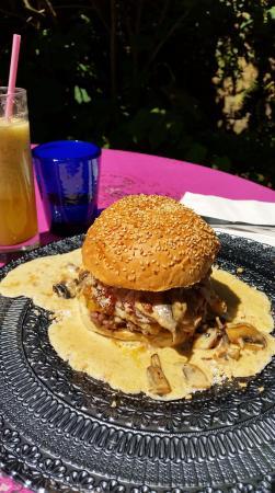 Ile-aux-Moines, ฝรั่งเศส: burger