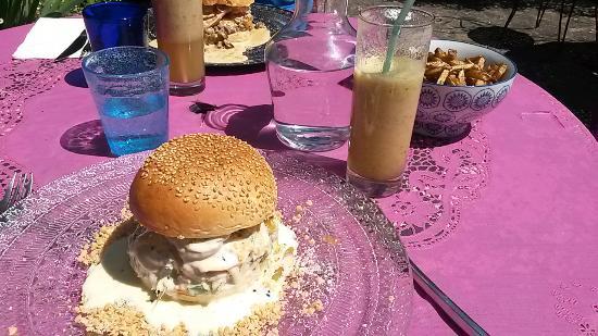 Ile-aux-Moines, ฝรั่งเศส: burger 1