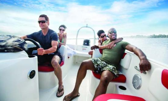 Boat Rental Miami : Our 16' Element