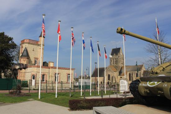 2 picture of airborne museum sainte mere eglise tripadvisor. Black Bedroom Furniture Sets. Home Design Ideas
