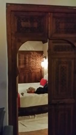 Dar Echchaouen: 室内①