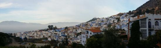 Dar Echchaouen: ホテルからの眺め!