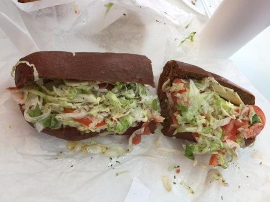 Murfreesboro, TN: Ham Sub ... can you see the ham?