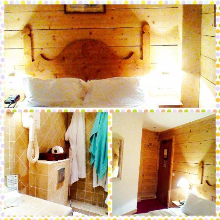 Le Chalet d'Auron : Une chambre chaleureuse