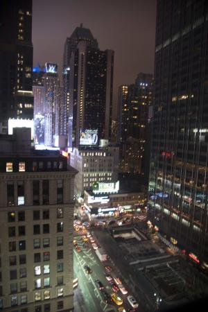 The Manhattan at Times Square Hotel: View from room 2241