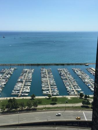 Manilow Suites At North Harbor Tower: Our apartment view