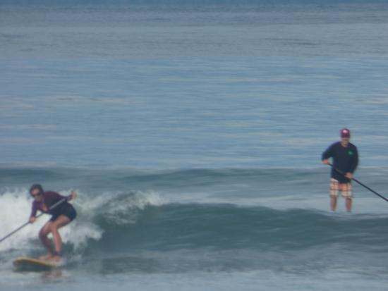 Pavones, Costa Rica: Shawn was the best SUP coach! Proficient and encouraging.
