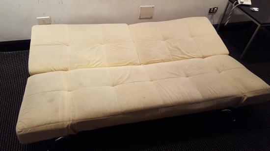 Hotel Plaza Fuerte: futon