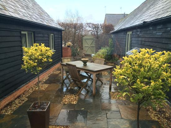 Charney Bassett, UK: The rain !