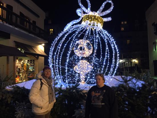 Ski Breezy - Chalet D'Ile: Christmas decorations