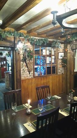 Bainton, UK: The restaurant