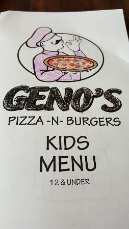 Geno's Pizza and Burgers: 20160104_124419_large.jpg