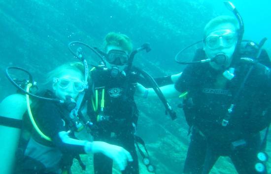Silent World Divers: Mark, Harry & Ava