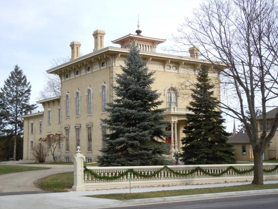 Rock County Historical Society : Take a look from across the street!