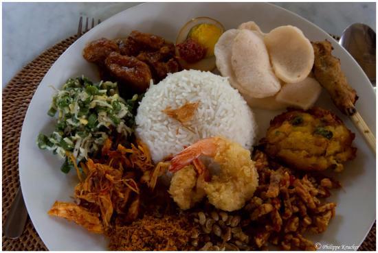 Cadre enchanteur et nourriture très bonne