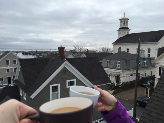 وايت بورتش إن: Hatcher Harbor Suite Private Roof Deck