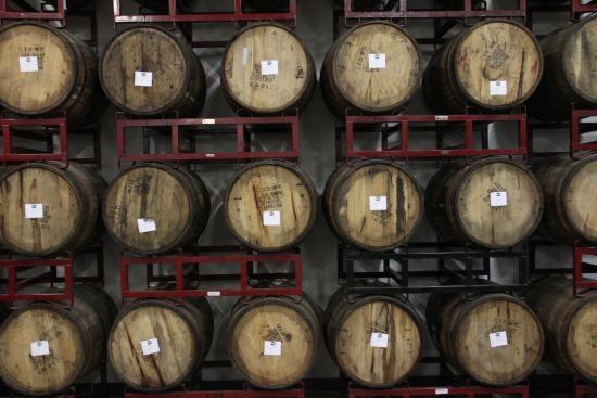 Ocean, NJ: Kane Brewing barrels