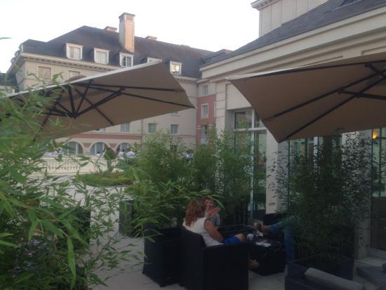Dream Castle Hotel at Disneyland Paris: Terras