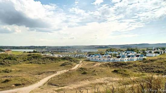 VVF Villages Blériot : Le vvf vu depuis le haut de la dune