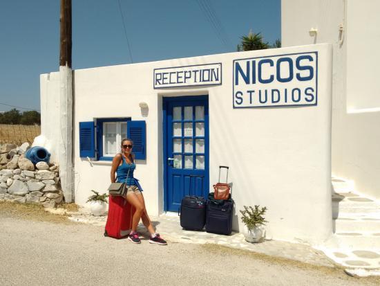 Logaras, Grekland: la reception