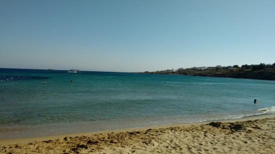 Logaras, Grekland: la spiaggia a 10m