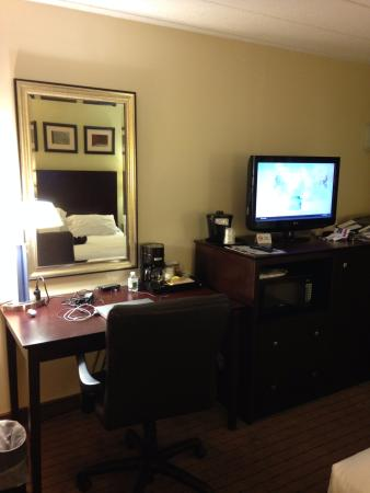 Holiday Inn Express Boston: escritorio