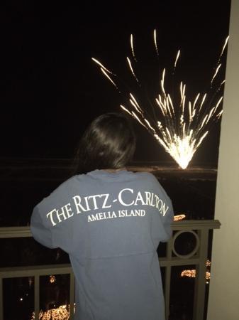 The Ritz-Carlton, Amelia Island: New Year's Fireworks Display